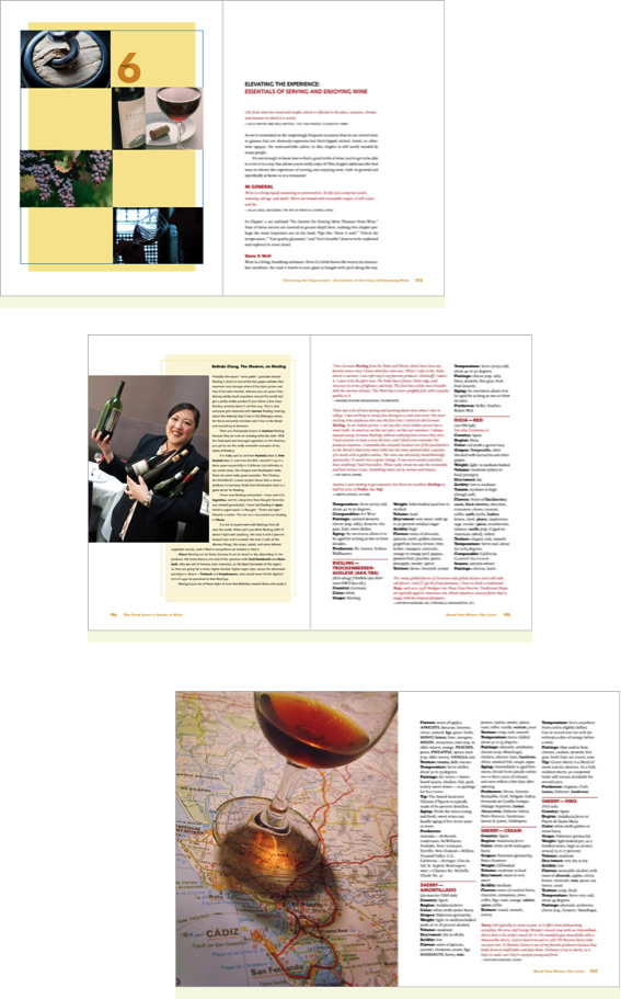 The Food Lover's Guide to Wine - Sample Pages