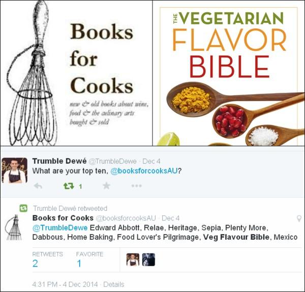 BooksToCooksAustraliaTwitterCollage