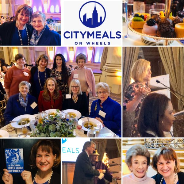 2019 Citymeals on Wheels Power Lunch for Women